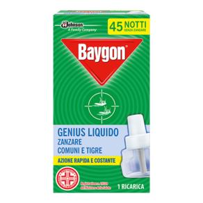 Baygon Genius Ricarica 45 notti