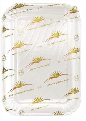 Vassoio cartone Sole 14×21