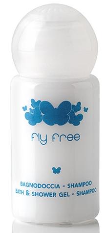 Fly Free Bagno doccia shampoo flacone 20 ml.