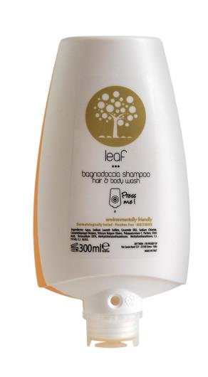 Leaf Flacone dosatore bagnodoccia shampoo
