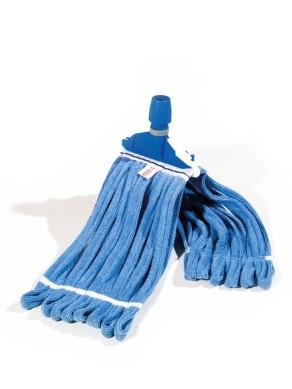 Mop Microfibra blu