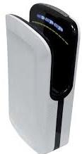 X Dry BF ABS Bianco Asciugamani a lama d'aria