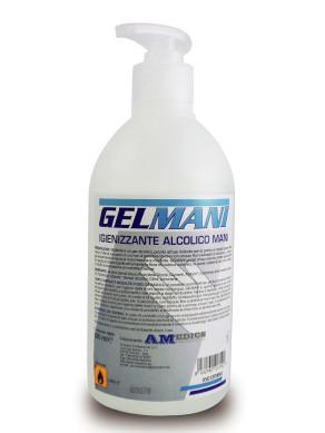 Gel Mani Igienizzante fl. 500 ml.