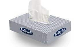 Bulkysoft Facial Tissue Small Box