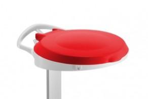 Coperchio Rosso per Carrello Delta