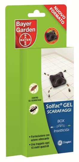 Solfac Gel Scarafaggi Box blister 2 box