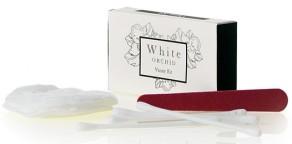 White Orchid Vanity Set in astuccio