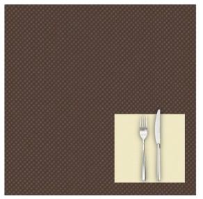 Tovaglia 100×100 Mono Color Cacao
