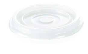 Coperchio trasparente bicchiere di plastica