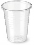 Bicchiere plastica trasparente P200