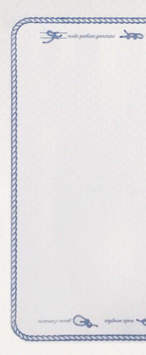 Busta Portaposate Bulkysoft Deco Sailor