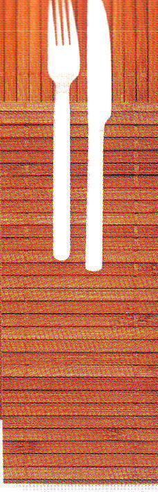 Busta Portaposate 38x38 Bamboo