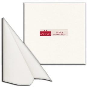 Tovaglioli 40×40 Mono textile bianchi