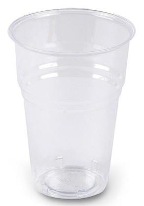 Bicchiere plastica trasparente Flexi