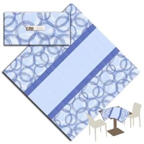 Tovaglia Micro 100×100 Round Blu