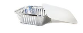 Coperchio per vaschette in alluminio