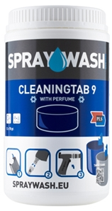 SprayWash Cleaning Tab 9 Blu