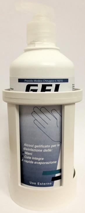 Portaflacone da muro per Gel Mani ml.500