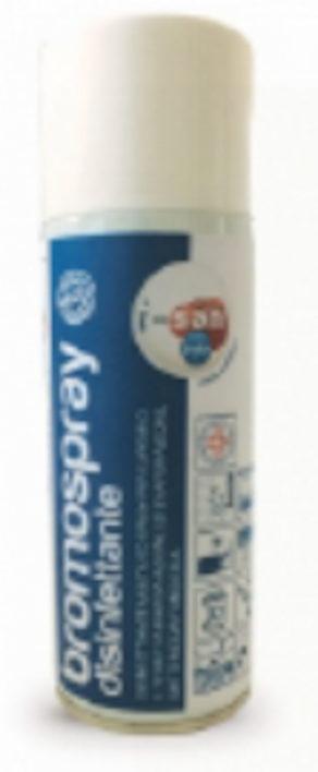 Bromo Spray Disinfettante fl. 400 ml.