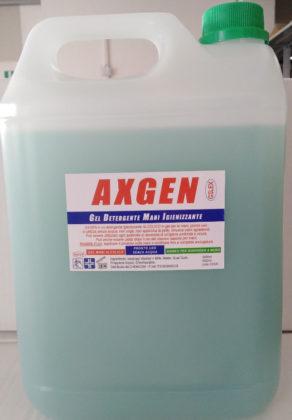 Axgen Detergente Gel Mani Igienizzante 5 lt.