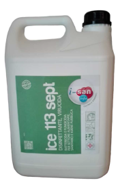 Ice 113 Sept Disinfettante Virucida tan. 5 lt.