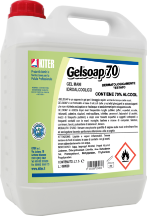 Gel Soap 70 lt.5