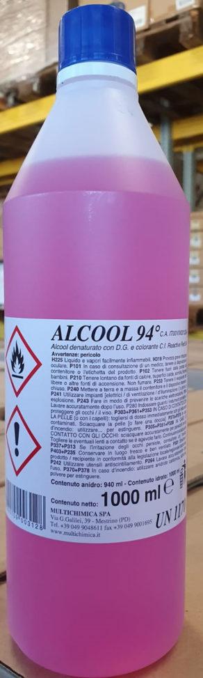 Alcool Etilico Denaturato al 94%