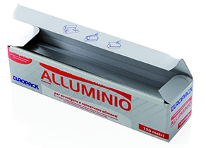 Rotolo alluminio per alimenti