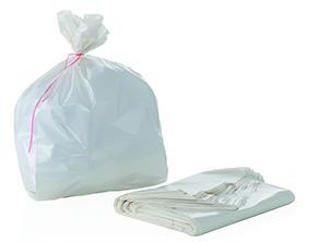 Sacchi gettacarte bianchi 50×60