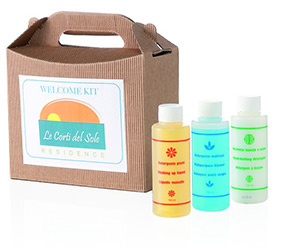 Detergente piatti flacone per Welcome kit