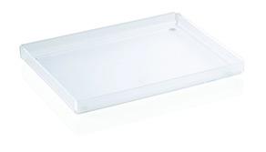 Vassoio portacortesia in plexiglass