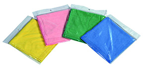 Panno Microfibra colore blu