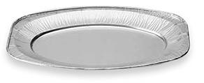 Vassoi ovali in alluminio