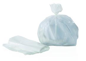 Sacchi bianchi 30×35 per pattumiera