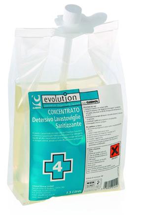 EV4 – Detersivo sanitizzante Stoviglie a mano