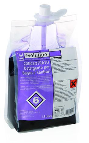 EV6 – Detergente per bagni e sanitari
