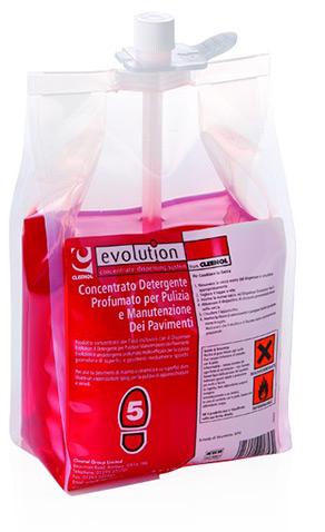 EV5 – Detergente manutentore pavimenti – profumo pout-pourri