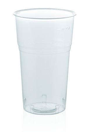 Bicchiere trasparente Kristal