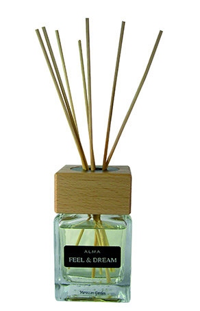 Profumatore con bacchetta Feel & Dream Vanilla Almond